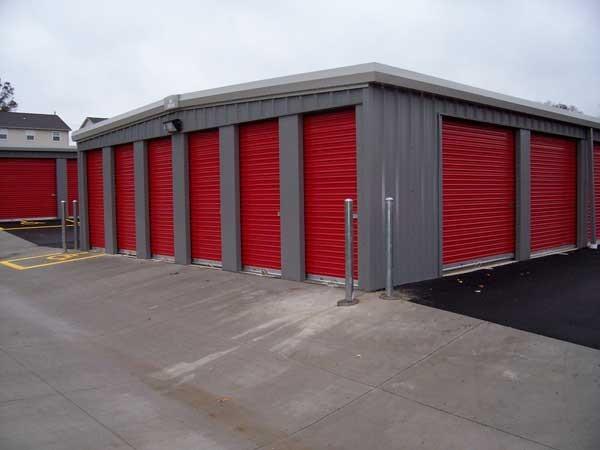 Steel Building Commercial Doors Mini Storage Roll Up Doors