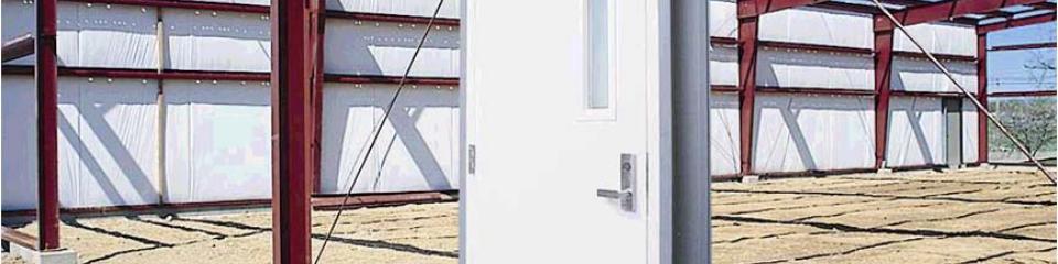 Steel Building Commercial Doors Walk Doors
